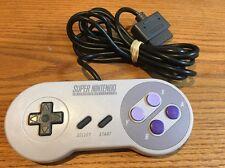 Super Nintendo SNES Controller Official Authentic OEM SNS-005 Excellent!