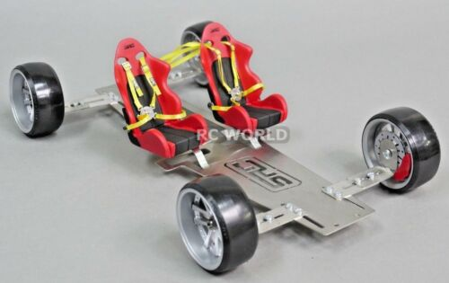 1//10 RC Scale DISPLAY CHASSIS For RC CAR BODIES