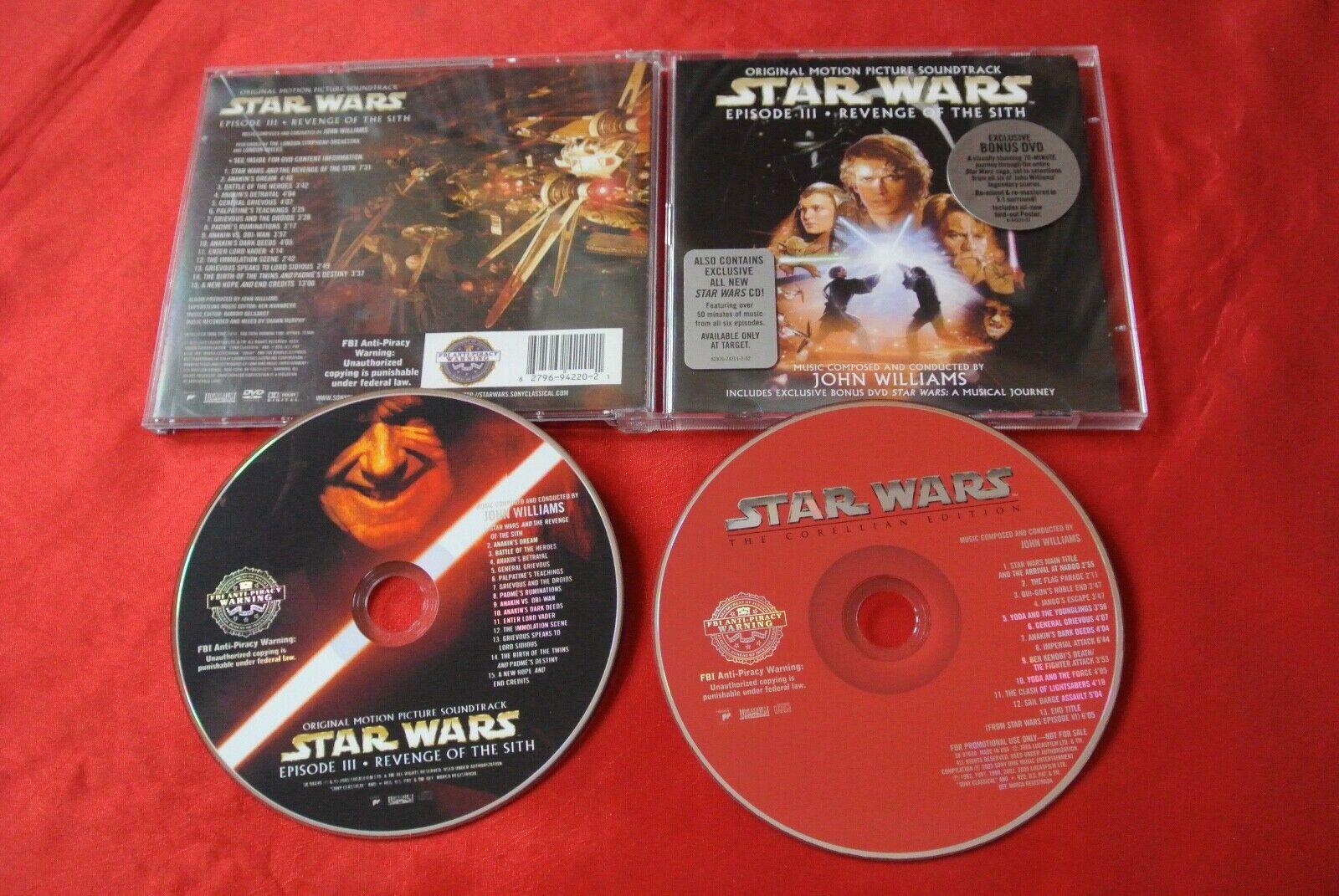 Star Wars A Musical Journey Dvd 2005 2 Disc Set Dvd Cd For Sale Online Ebay