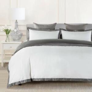 Johnpey Duvet Cover Queen 1000tc Egyptian Cotton Comforter Cover