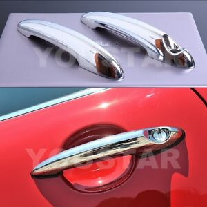 x2-BRIGHT-CHROME-Door-Handle-Covers-for-MINI-R50-R53-R55-R56-Cooper-S