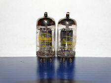 2 x 12AX7A Raytheon-Baldwin Tubes*Long Black Plates* Balanced*#7