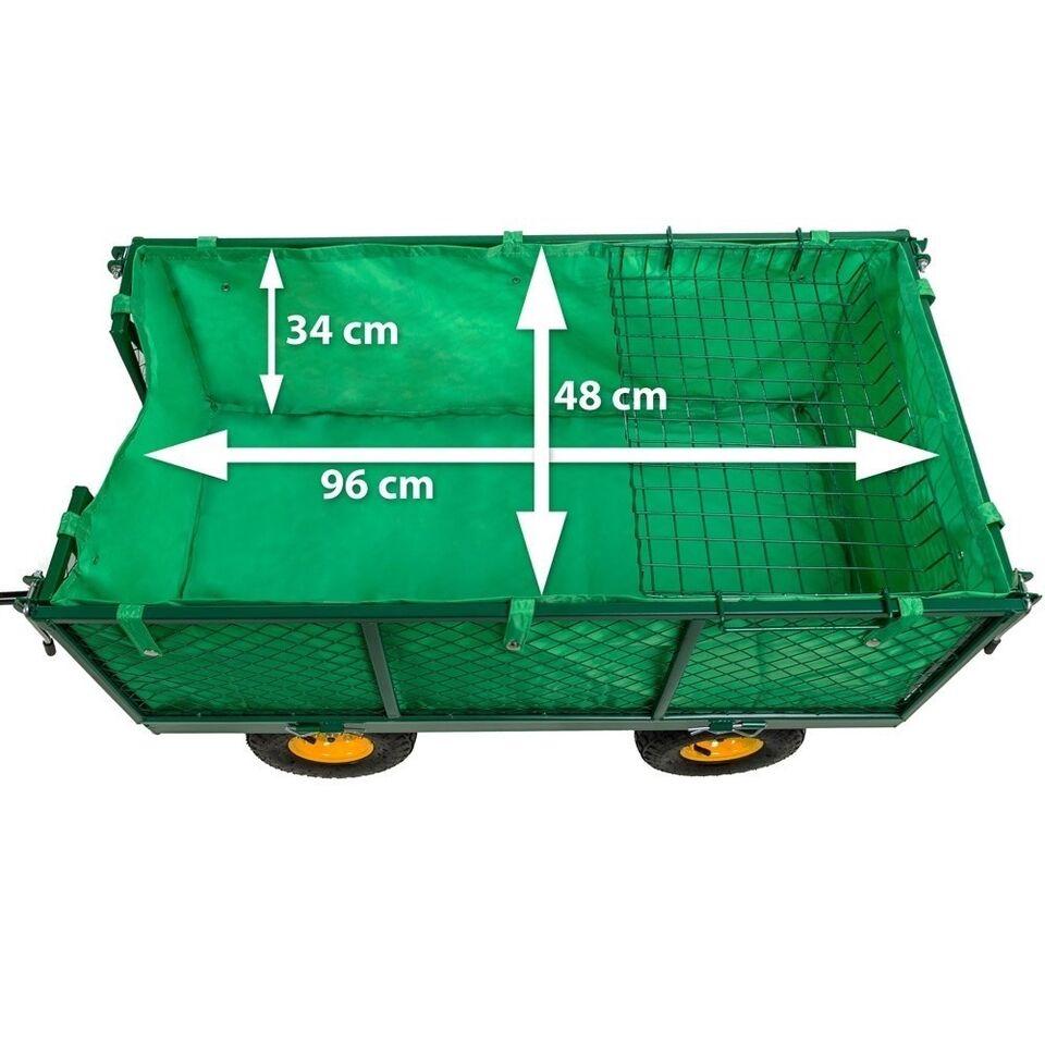 Trækvogn maks 550kg. med lad