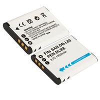 DB-L80 DBL80 Battery for SANYO VPC-CS1 GH2 VPC-X1200 Camera US