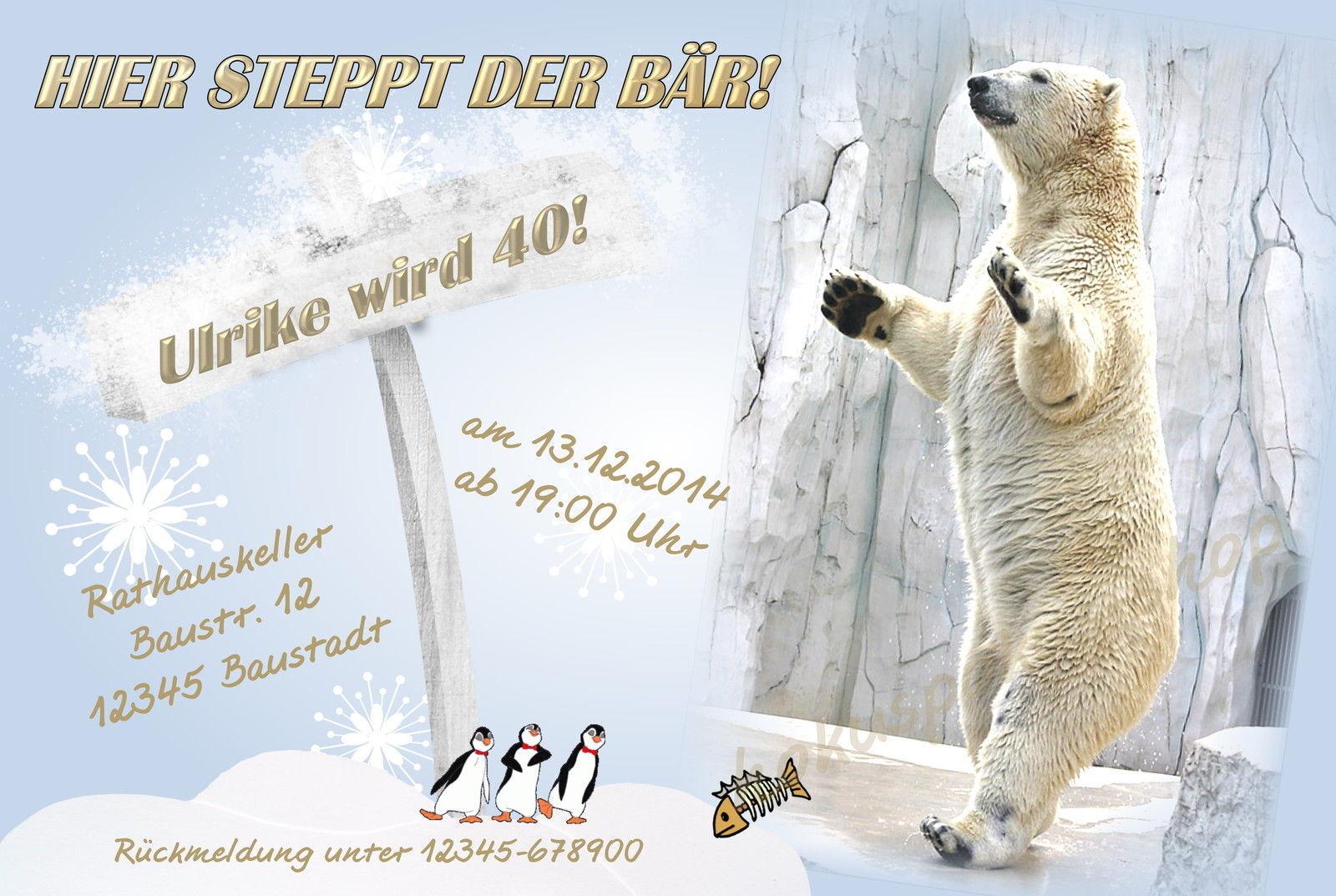 50 tierische Einladungskarten Geburtstag Einladungen JEDES ALTER 18 30 40 Party