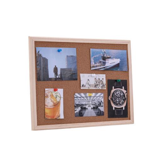 Korktafel mit Holzrahmen Wandtafel Pinntafel Pinnwand Pinwand Memoboard Korkwand