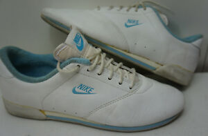 1984 vintage nike 840204pd taiwan blue tennis casual shoes