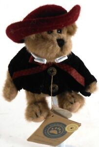 Boyds-Bears-ELOISE-WILLOUGHBY-TJ-039-s-Best-Dressed-Brown-Fully-Jointed-Teddy-Bear