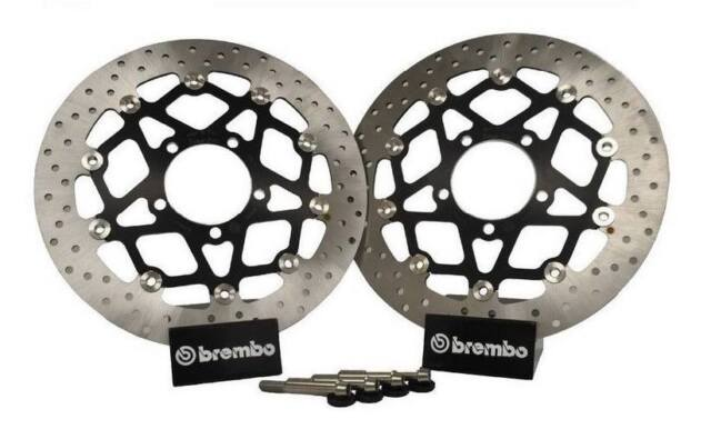 Kawasaki Z1000 2007 2008 2009 Brembo 330 Conversion Front Brake Disc Upgrade Kit