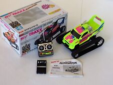 Taiyo Fast Traxx Eliminator (1991) New In Box. Yellow. Tyco. Vintage R/C truck.