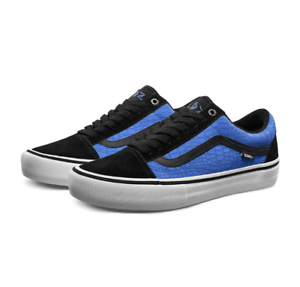 Vans Old Skool Pro Rowan Zorilla Black Blue Crocodile sz 7,8,9.5,11