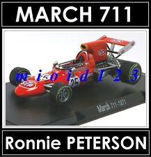 1/43 - MARCH 711 : Ronnie PETERSON - 1971 - Die-cast - RBA FORMULA1