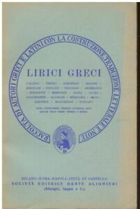 AA-VV-Lirici-greci-1972-Editrice-Dante-Alighieri