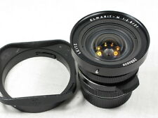 LEICA ELMARIT-M 21mm f2.8  1:2.8/21  WIDE ANGLE LENS GOOD