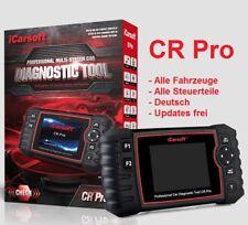 iCarsoft CR PRO Universeller Scanner ALLE SYSTEME & Online Service FULL SYSTEM !