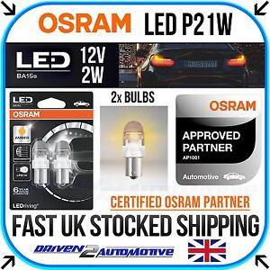 382A Amber 12V  BA15s LEDriving 7458YE-02B OSRAM LED Standard Bulb -