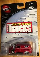 Hot Wheels Custom Classic Trucks Magazine 56 Ford Panel Delivery Diecast 4 Of 4