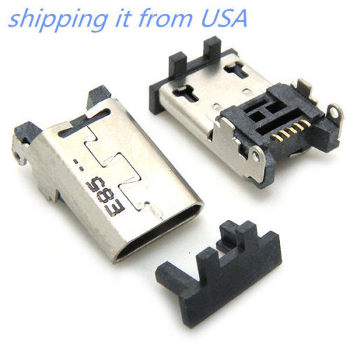 """OEM Micro USB Charger Charging Port Amazon Kindle Fire HD 7/"""" Connector Dock USA"""