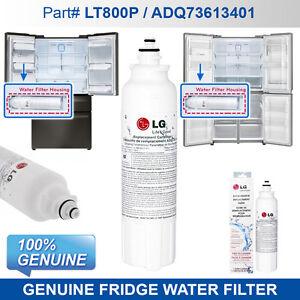 4X Genuine Replacement Fridge Filter for  LG ADQ73613401 LT800P  Original part