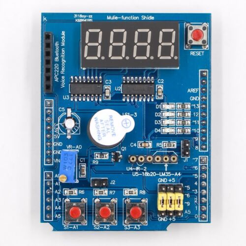 Arduino UNO MAGE 2560 Multi-Functional Shield Protype Expansion Board Learning