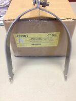 6 Stainless Steel Ridgid Pipe Clamps For Unistrut Channel 10/pk
