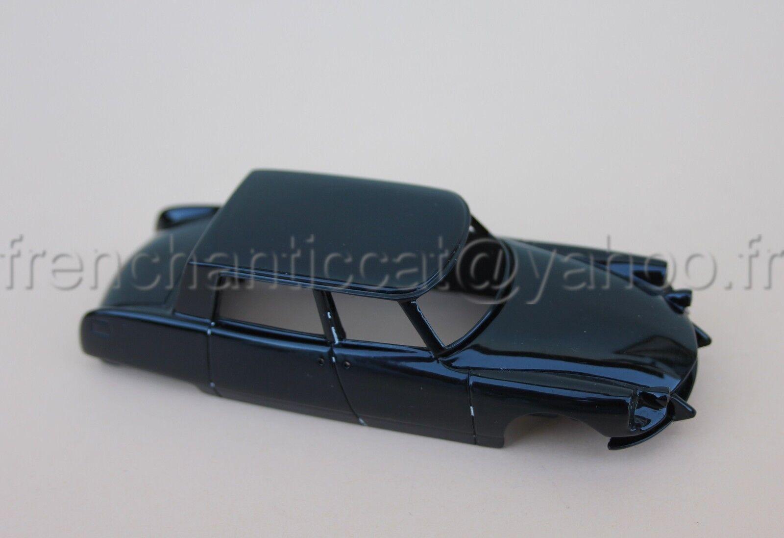 JJ Voiture Citroën DS Majesty berline Chapron 21 coque 1 43 Heco miniature noir