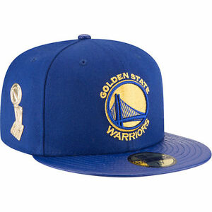 524b8a73b2ef3 Golden State Warriors New Era Trophy Champ 59FIFTY Structured Hat ...