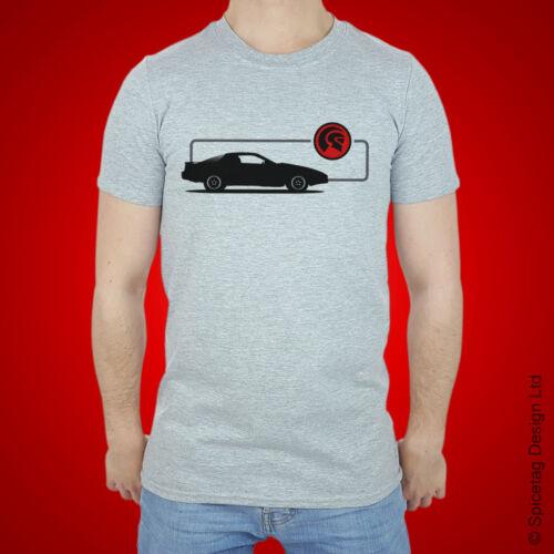 Vente KITT Voiture T-Shirt TV TRANS voiture USA 80 s television tshirt movie film tee