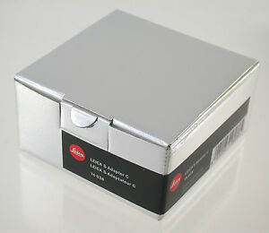 LEICA-S-Adapter-C-16038-lens-Optik-Zeiss-Contax-645-Body-S2-S-E-006-007-neu-new