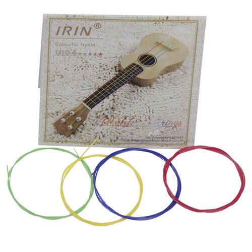 4pcs U104 ukulele strings nylon ukulele replacement strings nylon strings  ZP