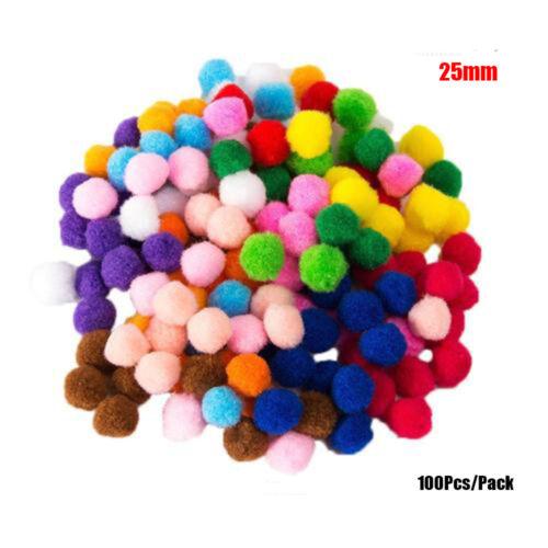 mous. artisanale bricolage la peluche craft pompons fluffy poms décorations