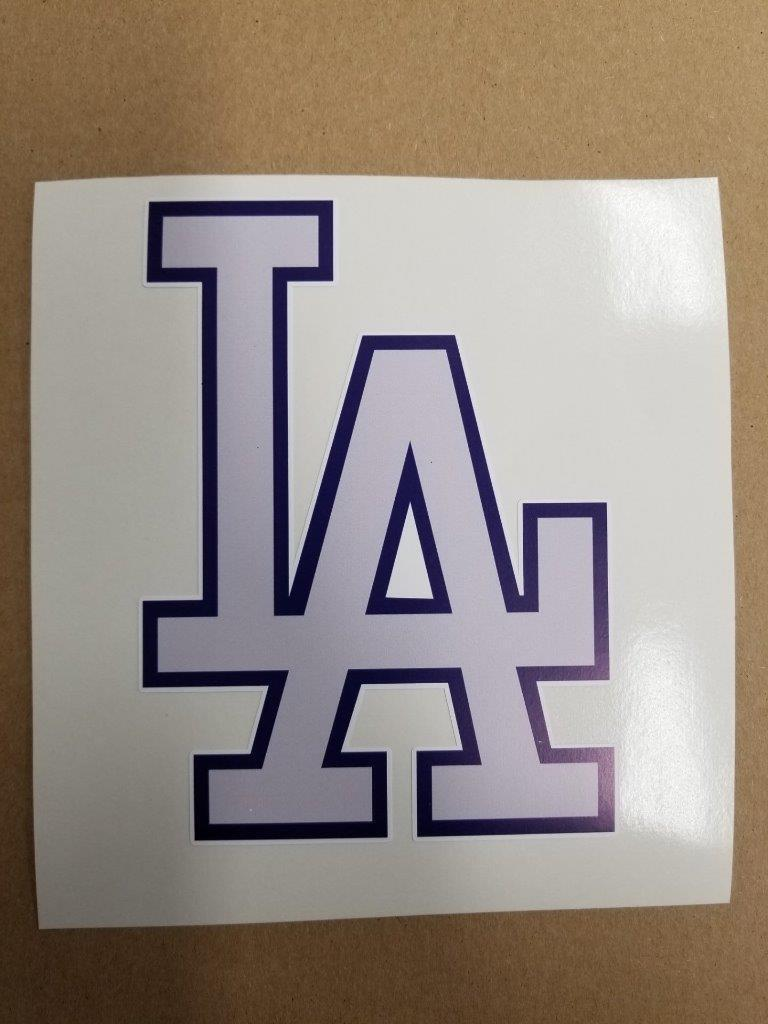 Los Angeles Dodgers cornhole board or vehicle decal(s) LD1
