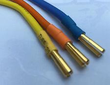 Brushless Motorkabel ESC BL Motor Kabel Satz 4mm Goldstecker Silikonkabel 23cm