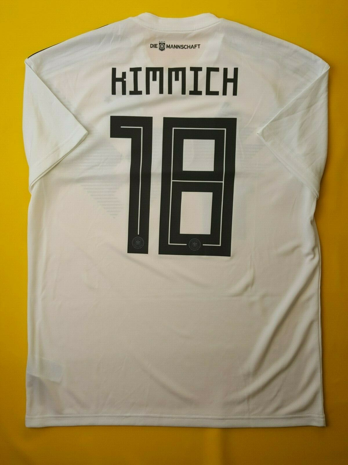 5+ 5 Kimmich Germany soccer jersey large 2018 shirt football Adidas ig93