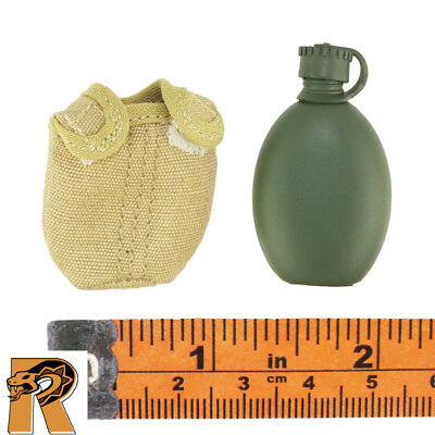 Hobby Master Action Figures Canteen w// Pouch Moshe Dayan IDF 1//6 Scale