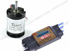 Taort 60A ESC + 1700KV 500 Motor TL3723 for 500 Class RC Heli Helicopter