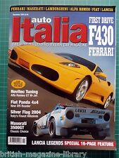 Auto Italia Ferrari F430 Novitec Alfa GT Maserati 3500GT Lancia Legends Stratos