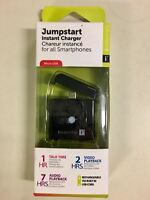 2 Pack Iessentials Jumpstart Instant Charger For Ipod & Iphone W/ Led Indicator
