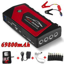 69800mah Car Jump Starter Booster Jumper Box Power Bank Battery Charger Portable