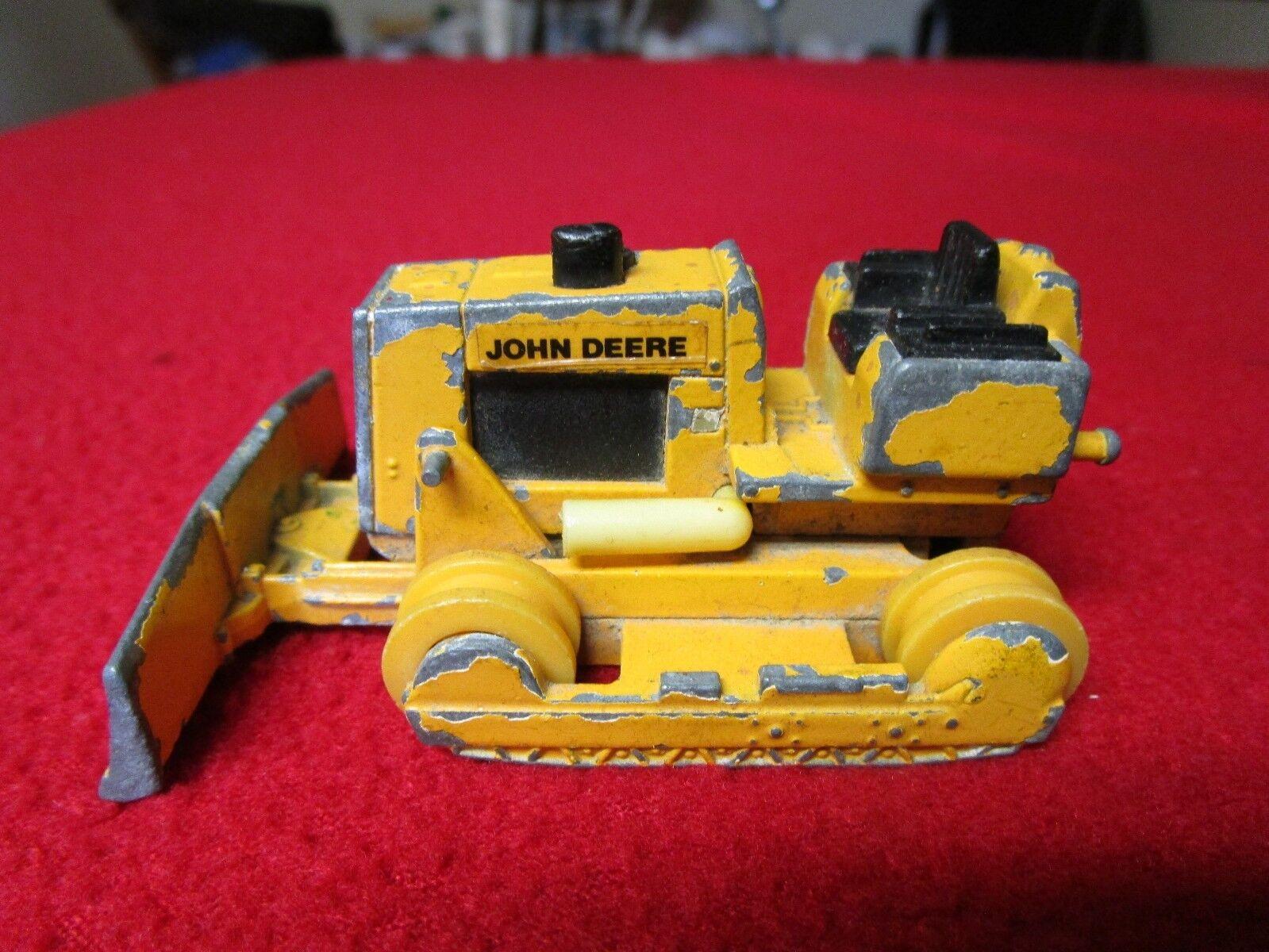John Deere Deere Deere ERTL Dozer Tractor Bulldozer Antique Vintage Rare cc5eff