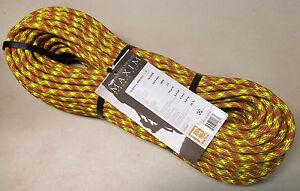 Maxim-Glider-10-5x60m-2X-Dry-Dynamic-Climbing-Rope-New-England-Rock-Trad-Sport