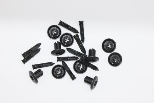 10X MITSUBISHI 7-8mm Push Hole Trims Clips