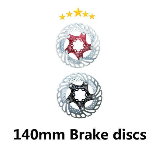 Brake Disc 140//160//180//203mm MTB Road Mountain Bike Rotor 6 Bolts For Sram