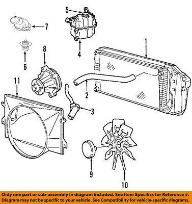FORD OEM-Radiator Cooling Fan Motor CT4Z8C607B