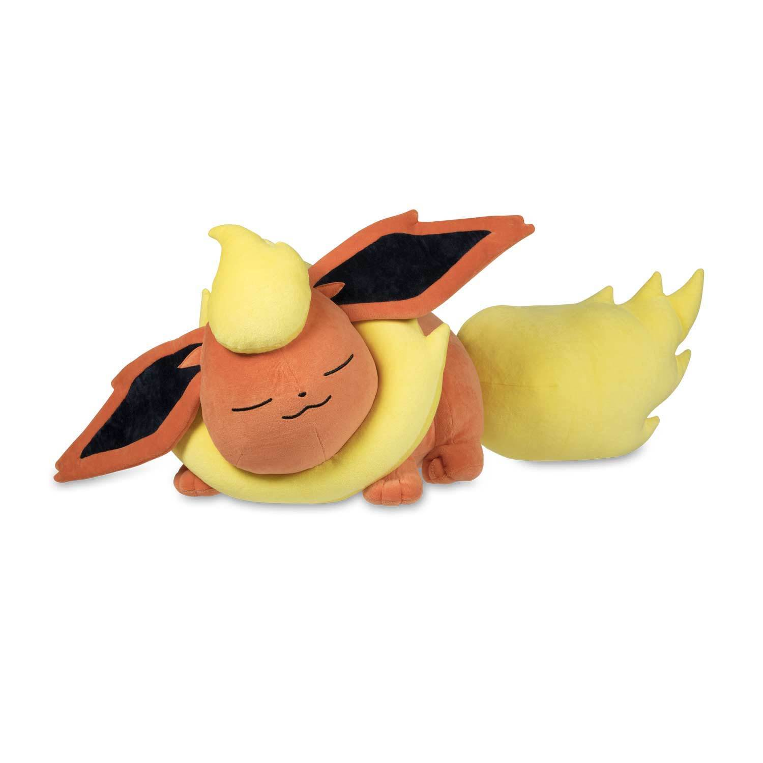 Pokemon Center Sleeping Flareon Poké Plush - 15 1/2 Inch