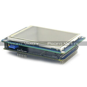SainSmart-3-2-034-Touch-Screen-LCD-amp-SD-Slot-Expansion-Shield-for-Arduino-DE