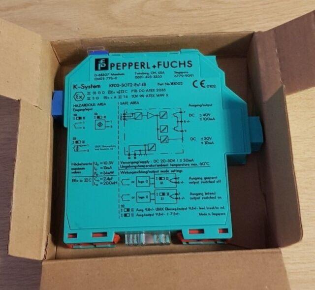 New Pepperl + Fuchs KFD2-SOT2-Ex1.LB Switch Amplifier Part No. 181002