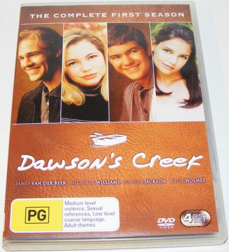 1 of 1 - Dawson's Creek : Season 1---- (DVD, 2003, 4-Disc Set)