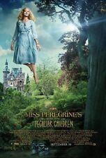 POSTER MISS PEREGRINE'S HOME FOR PECULIAR CHILDREN TIM BURTON EVA GREEN CINE #12