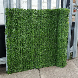 Artificial Hedge Conifer Garden Fence Privacy Screening